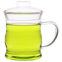京东PLUS会员 : 嘉鸿美居 静思系列 G007 玻璃茶杯3件套 350ml *8件