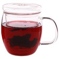 京东PLUS会员 : 嘉鸿美居 静思系列 G019 玻璃茶杯3件套 450ml *3件