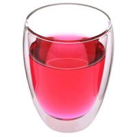 京东PLUS会员 : 嘉鸿美居 空系列 G010 双层玻璃茶杯 350ml *3件