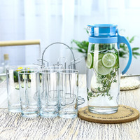 Ocean 玻璃冷水壶水杯7件套