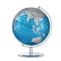 Comix 齐心 B1011 世界地球仪摆件 金属底座  φ20cm