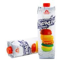 Paradise 果汁饮料 什锦果汁 1L*2瓶