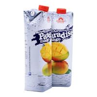 Paradise 果汁饮料 芒果汁 1L*2瓶