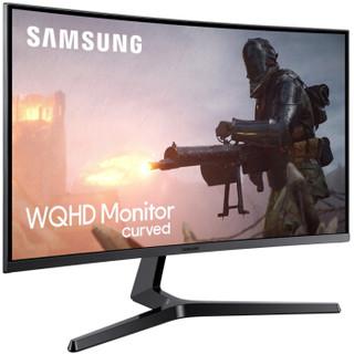 SAMSUNG 三星 C27JG52QQC 26.9英寸 显示器(2560×1440、144Hz、1800R)