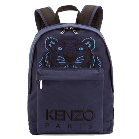 KENZO F005SF300F20 男士虎头印花双肩背包