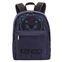 KENZO F005SF300F20 男士虎头印花双肩背包 (黑白)