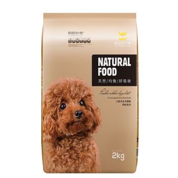 疯狂的小狗 肉松系列 鸡肉味小型犬全阶段狗粮 2kg