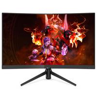 飞利浦(PHILIPS) 23.6英寸 FHD 1500R曲率 广色域 电竞显示器242M7