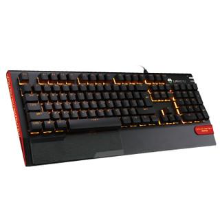 Langtu 狼途 X1000 机械键盘键鼠套装 (自主轴、黑色、黄色背光)