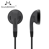 SoundMAGIC 声美  EP20 平头耳机 黑色