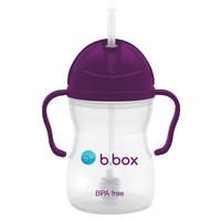 B.box 婴幼儿重力球吸管杯  240ml 葡萄紫