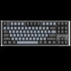 DURGOD 杜伽 TAURUS K320 87键有线机械键盘 茶轴 深空灰
