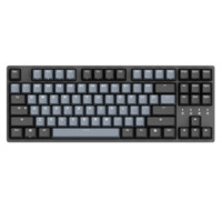 DURGOD 杜伽 TAURUS K320 87键 有线机械键盘 深空灰 Cherry静音红轴 无光