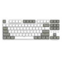 DURGOD 杜伽 TAURUS K320 87键机械键盘 (Cherry红轴、天然白、无光、有线)
