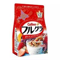 京东PLUS会员 : Calbee 卡乐比 北海道产富果乐水果麦片 700g *3件