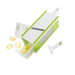 当当优品 多功能四面刨丝刨片器 绿色