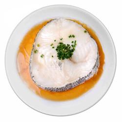 蓝雪 冷冻智利银鳕鱼扒 300g 2块 袋装 海鲜水产 *2件