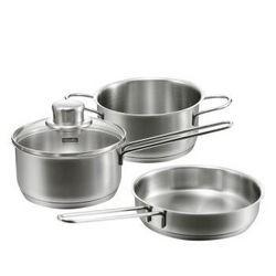 Fissler 菲仕乐 三件组小锅套装(汤锅+奶锅+煎锅)