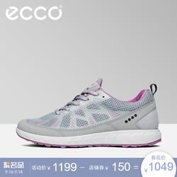 ECCO 爱步 803543 2017新款网面运动鞋平底圆头系带女鞋地形踪迹系列