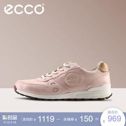ECCO 爱步 CS14 232133 春夏休闲平跟低帮鞋 平底系带运动简约单鞋女