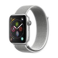 Apple Watch Series 4苹果智能手表(GPS款 44毫米银色铝金属表壳 海贝色回环式运动表带 MU6C2CH/A)