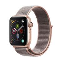 Apple Watch Series 4苹果智能手表(GPS款 40毫米金色铝金属表壳 粉砂色回环式运动表带 MU692CH/A)