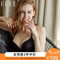 ELLE F01018WC 女士文胸 (80C、黑色)