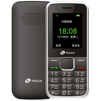 K-TOUCH 天语 Q21C 老人手机 (黑色、电信2G)