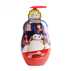 Disney 迪士尼 超能陆战队 洋甘菊儿童洗发水沐浴露二合一 300ml *5件