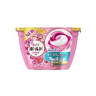 P&G 宝洁 洗衣凝珠 粉色花果香 18粒