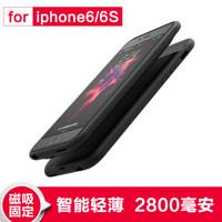 ROMOSS 罗马仕 苹果无线背夹电池 (黑色、2800、EC28苹果iphone6/6S)