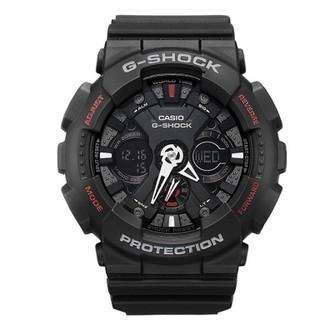 CASIO 卡西欧 G-SHOCK系列 GA-120-1A 男士双显运动手表