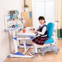 心家宜  M108-M215 儿童学习桌椅套装  王子蓝