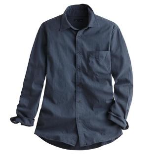 lativ 诚衣 37340011 男士法兰绒长袖衬衫