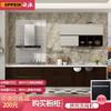 促欧派橱柜整体厨房装修定做小户型现代简约橱柜多种花色可选3.6米15800套餐预付金 800元包邮