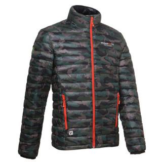 HIGHROCK 天石 N501411 中性款排骨羽绒服 650蓬鹅绒 (M、男款 迷彩色)
