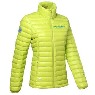 HIGHROCK 天石 N501411 中性款排骨羽绒服 650蓬鹅绒 (S、女款 新绿色)