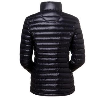 HIGHROCK 天石 N501411 中性款排骨羽绒服 650蓬鹅绒 (XXXL、女款 黑色)