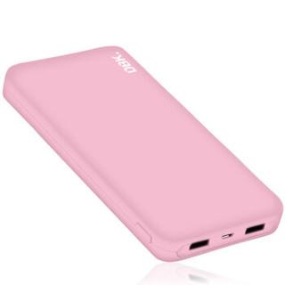 迪比科T30000 粉色 大容量20000毫安oppo充电宝 MIUI苹果手机通用移动电源便携