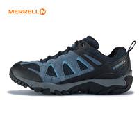 MERRELL 迈乐 J09545 男款徒步鞋 (蓝色、44)