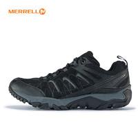 MERRELL 迈乐 J09545 男款徒步鞋 (黑色、42)