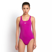 SPEEDO 速比涛 310216 女式连体泳衣 (32、紫红色(有胸垫))