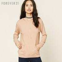 再降价:FOREVER 21 永远21 女士纯色针织卫衣