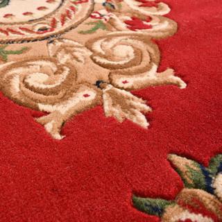 江南叶 立体剪花威尔顿机织欧式地毯