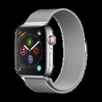Apple Watch Series 4智能手表(GPS 蜂窝款 44毫米不锈钢表壳 米兰尼斯表带 MTX12CH/A)