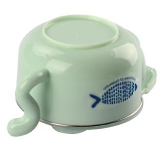 BabyCare 宝宝注水保温碗5件套 (绿色)