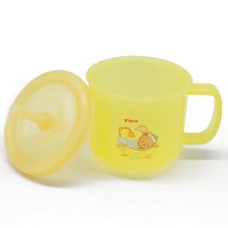 pigeon 贝亲 Little Coro DA99 宝宝餐杯套装 (套装、黄色)
