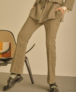 Lily SMART系列 117429C5916 女士千鸟格九分裤