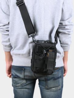 麦格霍斯 MAGFORCE 腰挂工具包/户外收纳配件包 0226 黑色