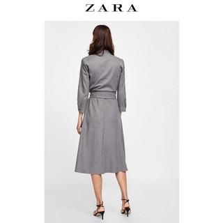 ZARA  04437274802-23 女士连衣裙 (XS、灰色)